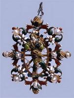 Фламандская мастерская. Булавка для  шляпы Кон. XVI в.