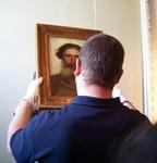 Картина И. Н. Крамского Портрет крестьянина занимает свое место в экспозиции Русского музея. 18 мая 2006 года