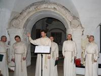 Праздничный мужской хор Свято-Данилова монастыря - постоянный участник музейных фестивалей