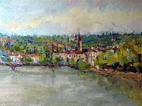 Т.Парфенова. Вид на город Верона.