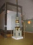 Макет металлического шпиля колокольни Петропавловского собора