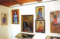 Фрагмент экспозиции Женский портрет