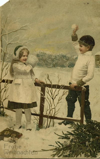 Экспозиции: Новогодняя рождественская открытка в Русском музее фотографии