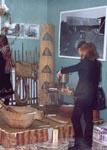 Фрагмент экспозиции Крестьянский двор