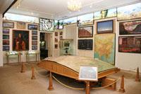 Зал Центрально-Азиатской экспедиции Музея имени Н.К.Рериха