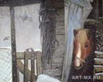 А.В.Фатеева. Первый снег. 2010. Галерея Мансарда художников.