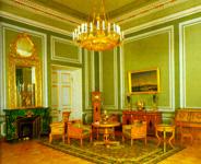 Экспозиции: Зеленая гостиная  (быв. Юсуповский дворец)