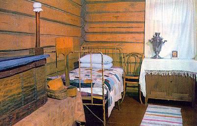 Экспозиции: Спальня матери