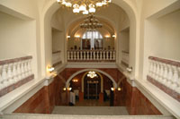 Национальный музей РТ. Парадная лестница