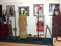 Фрагмент экспозиции  Основные национальности, проживающие в Бавлинском районе