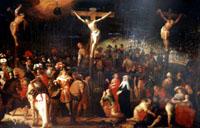 Коллери Луис де. Ок.(1582 -1621/22)/ Голгофа