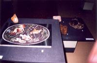Ваза Юбилейная. Изготовлена из алтайской ревневской яшмы. Экспозиция Колывань камнерезная