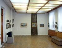 Кемеровский областной музей изобразительных искусств. Фрагмент экспозиции. Фото А.Лебедева