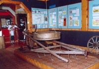 1-й зал. Фрагмент исторической экспозиции