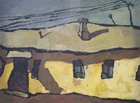 Оскар Рабин, Оптимистический пейзаж, 1959
