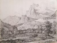 Долина. Швейцария. 1810-е - начало 1820-х