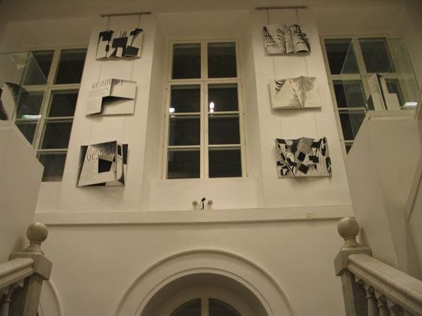 Экспозиции: Интерьер музея - лестница