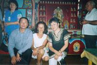 Буддийский храм в 70км от Турана