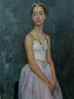 Цыцин Н.В. - Юная балерина Ксения Летвинова