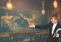 Павлин с серебристым хохолком - Уистлер в Третьяковской галерее
