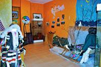 Этнографическая экспозиция Край девочки Саване