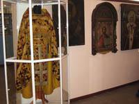 Православная экспозицияю Облачение священника, начало XIX в.