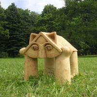 Выставка ландшафтной скульптуры Веры Виглиной в Павловске