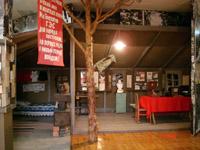 Стационарная выставка Страницы истории Братскгэсстроя. Палатка первостроителей