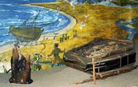 Кузница II камчатской экспедиции. Фрагмент экспозиции. Фото Татаренковой Н.А.