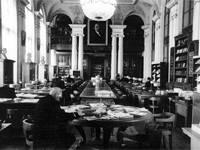 Большой читальный зал Военно-Морской академии