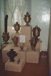 Уголок экспозиции Коллекция самоваров