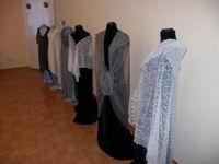 Выставка Оренбургский пуховый платок в Палатах г.Владимира