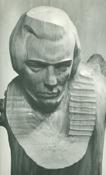 Портрет поэта Кольцова. Выставка П. Бондаренко в Художественной галерее г. Тарусы