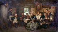 Экспозиции: Кившенко А.Д. Военный совет в Филях