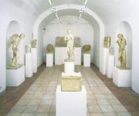 Античные залы Галереи Церетели