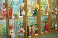 Экспозиции: Русские народные костюмы. Музей этнографических костюмов на куклах