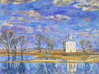 Браговский-Весна на Нерли
