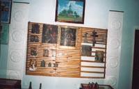 Картина (вверхней части экспозиции) Храм села Антоновка