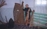 Гимга - орудия лова рыбы.
