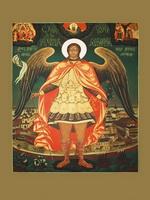 Архангел Михаил (икона, 1999) копия