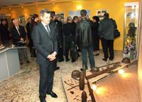 Гость музея - губернатор Астраханской области А. Жилкин