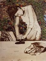 Вик Мюнис. Женщина которая гладит (Изида), 2008