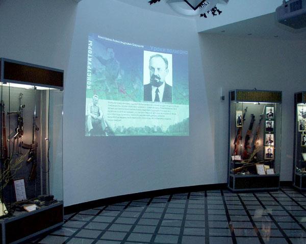Экспозиции: Музей М.Т.Калашникова в Ижевске. Вид экспозиции