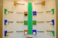 Фрагмент экспозиции продукции Омского каучука