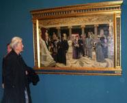 Эрмитаж. Открытие выставки Лаурица Туксена 27 сентября 2006 года