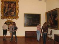 М.Е. Шпак. Зал итальянского искусства XVI-XIX веков. 2009. Радищевский музей