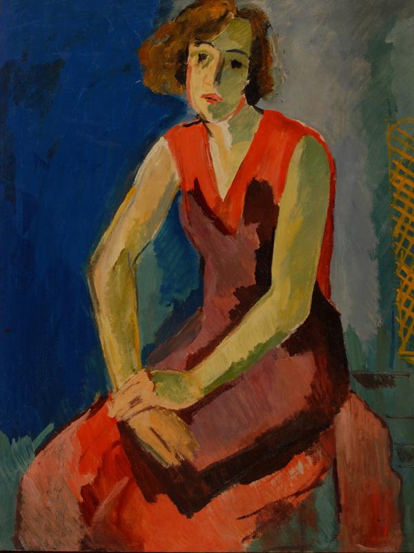 Экспозиции: Александр Русаков. Портрет жены художника