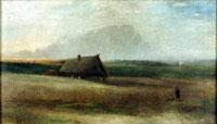 Саврасов А.К. Кутузовская изба. 1860-е гг.