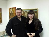Художники орнаменталисты  Алексей Акиндинов и Анна Филимонова