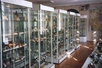 Фрагмент экспозиции отдела полезных ископаемых